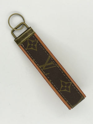Upcycled Louis Vuitton Key Fob