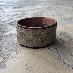 Upcycled Small Gucci Cuff Bracelet