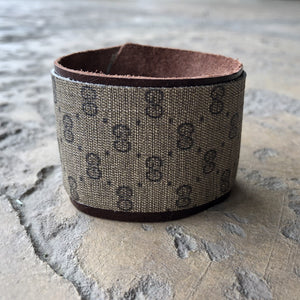 Upcycled Medium Gucci Cuff Bracelet
