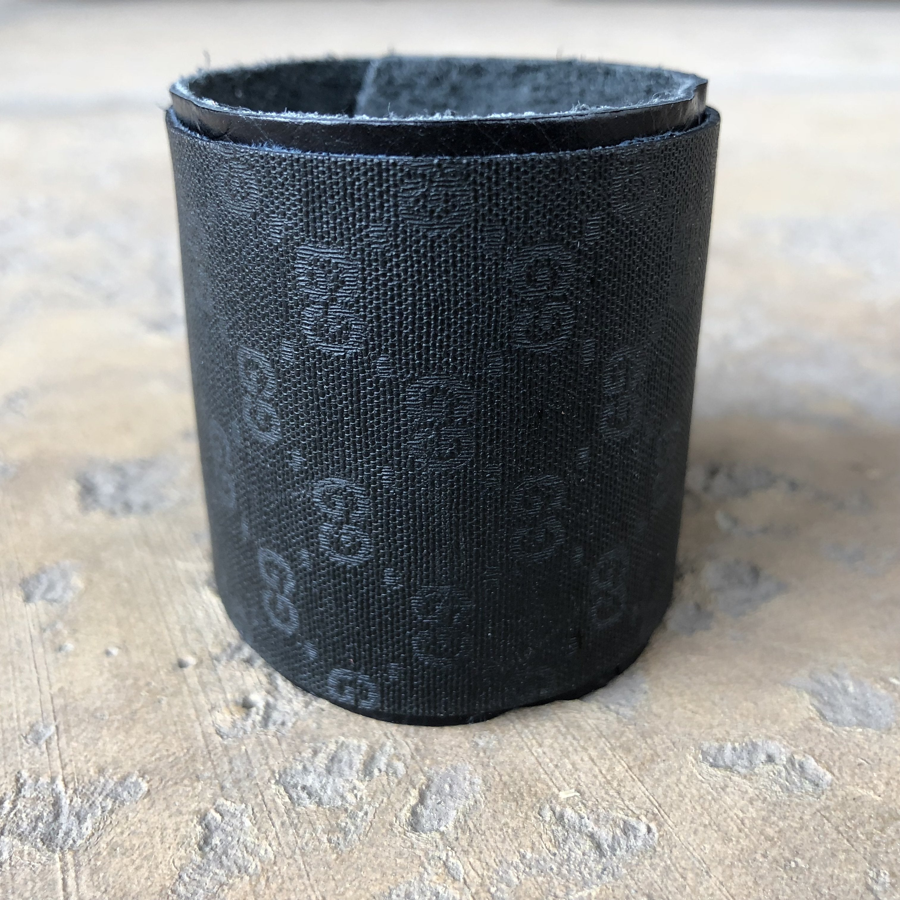 Upcycled Large Gucci Cuff Bracelet