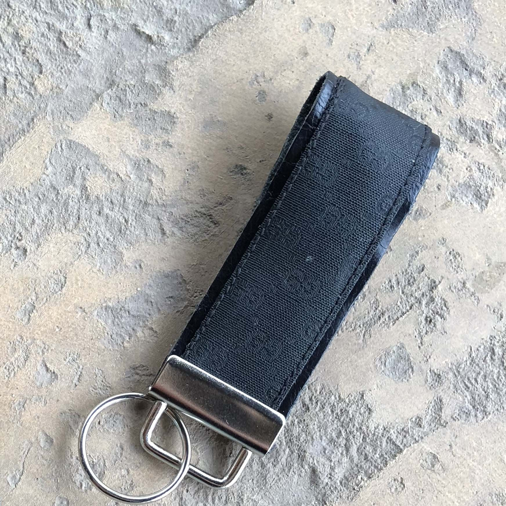 Upcycled Gucci Key Fob