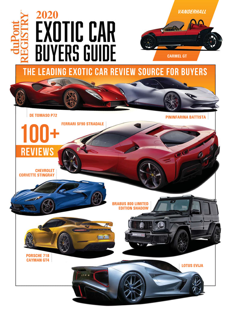 2020 Exotic Car Buyer's Guide
