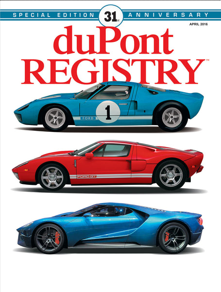 duPont REGISTRY April 2016