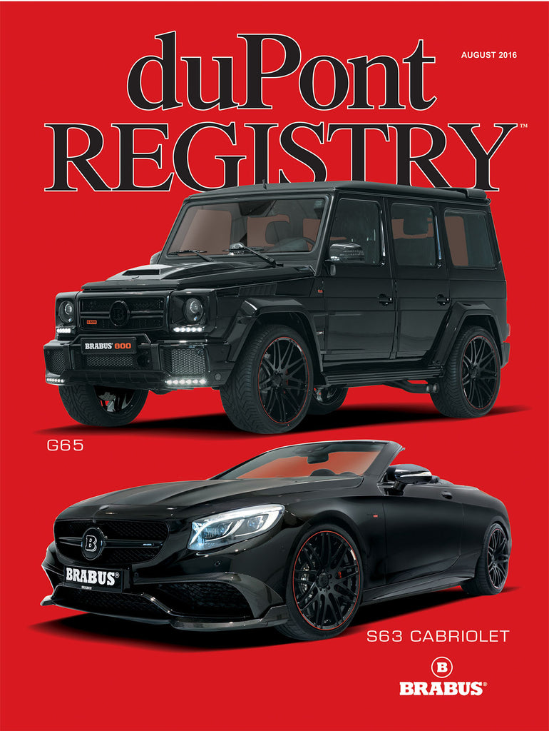 duPont REGISTRY August 2016