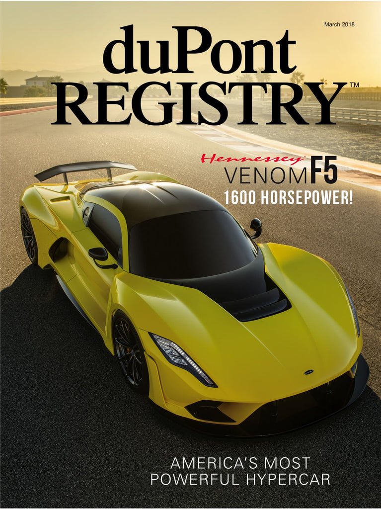 duPont REGISTRY March  2018