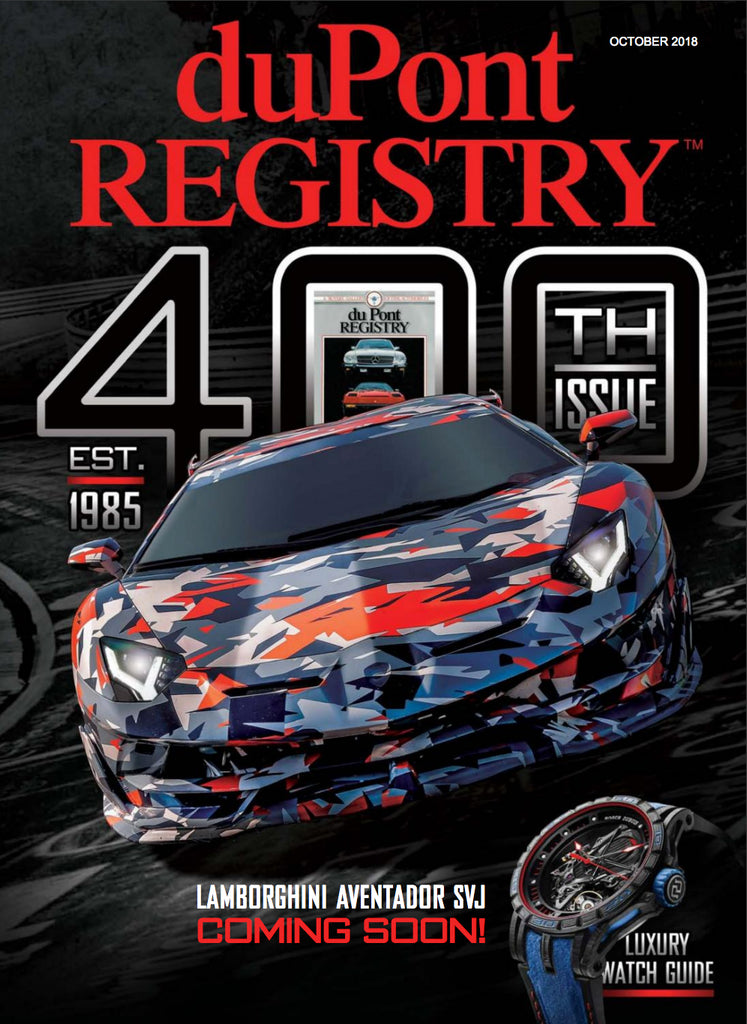 duPont REGISTRY October 2018