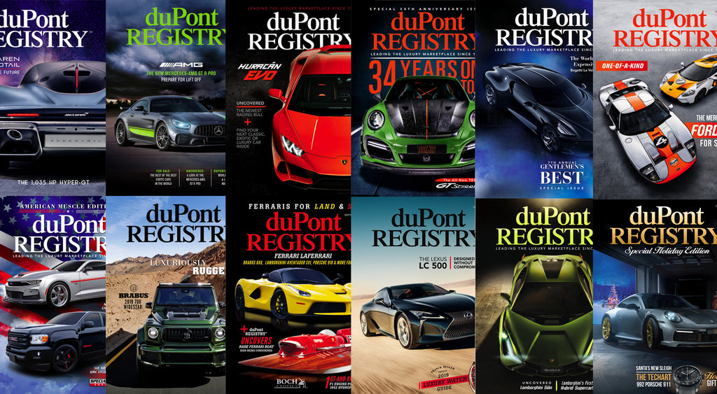duPont REGISTRY 2019 All 12 Issues.