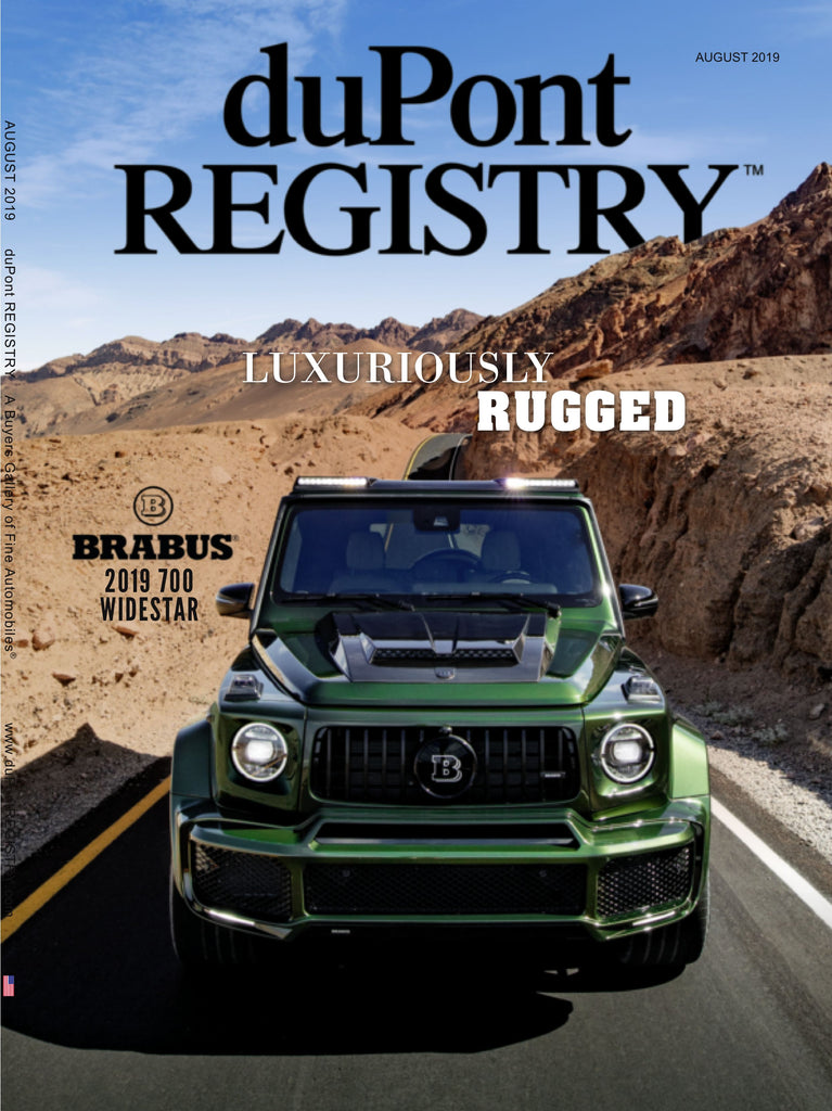 duPont REGISTRY August 2019