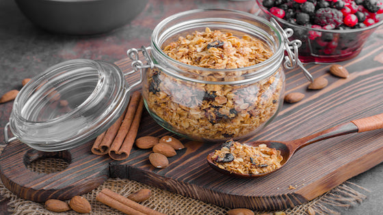 Homemade No Grain Granola