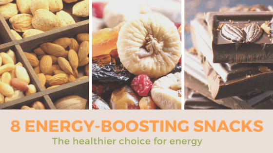 8 Energy-Boosting Snacks