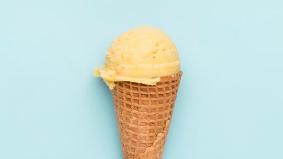 Vegan Turmeric Golden Milk Ice-Cream