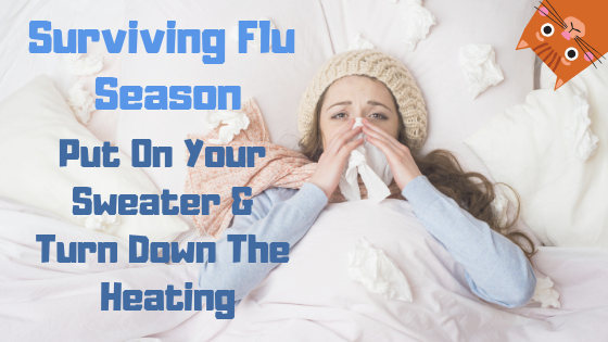 🍋 Surviving Flu Season: 🧣 Put On Your Sweater & Turn Down The Heating