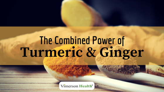 The combined power of Turmeric & Ginger