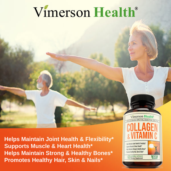 Collagen & Vitamin C capsules