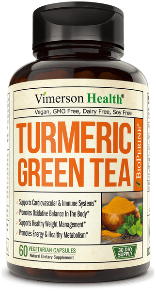 Turmeric Green Tea capsules