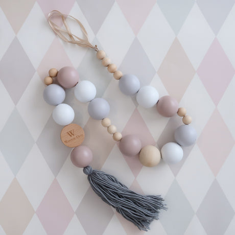 Pastel Beaded Mobile