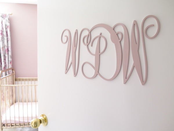 Monogram Wall Mount