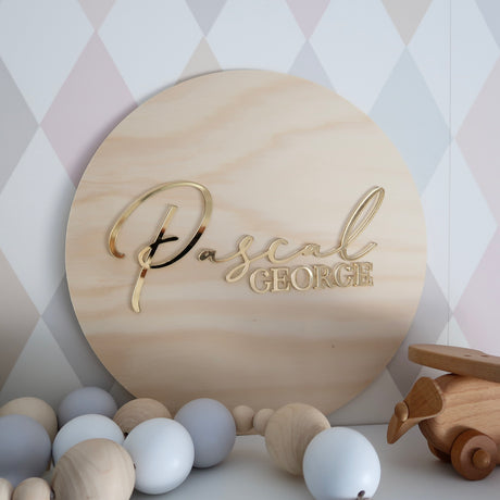 3D NAME PLAQUE | SMALL