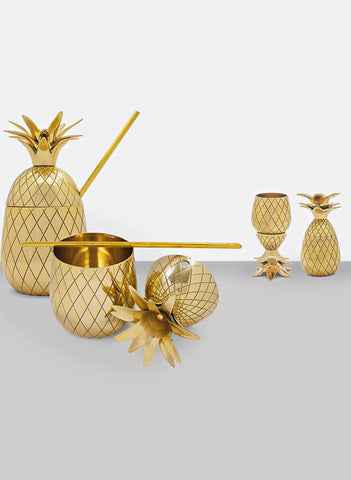 Pineapple shot glasses in stock...