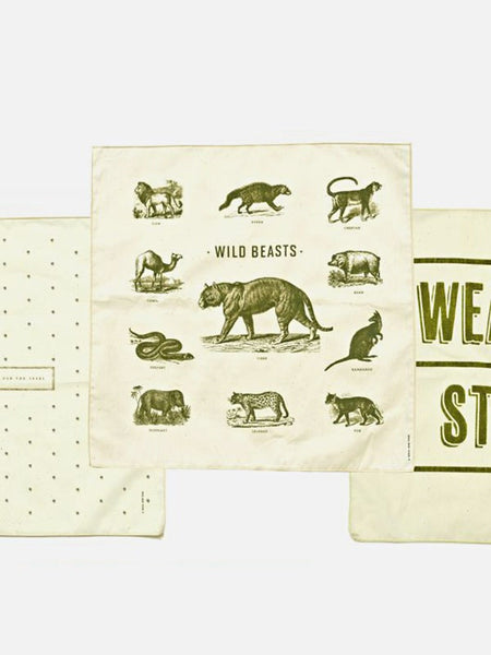 Izola Forest Handkerchief Gift Set of 3