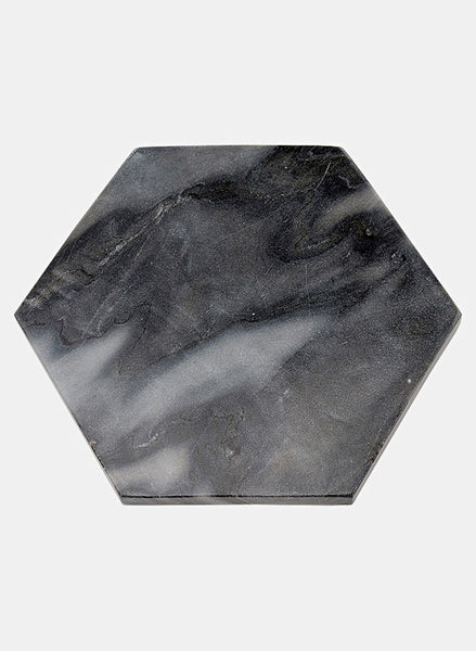 Serving Plate Black Marble