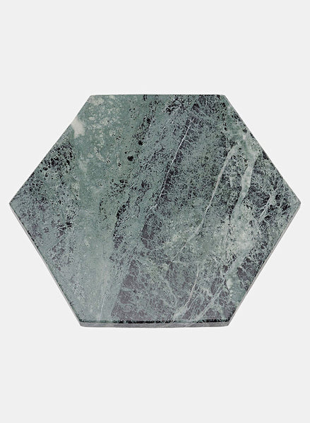 Serving Plate Green Marble