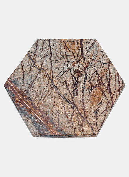 Serving Plate Forest Brown Marble