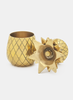 Gold Pineapple Shot Glasses (set of 2)