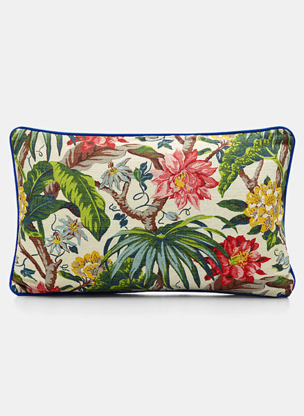 Print Cushion - Passion Flowers