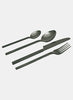 Titanium Cutlery Black - set of 4