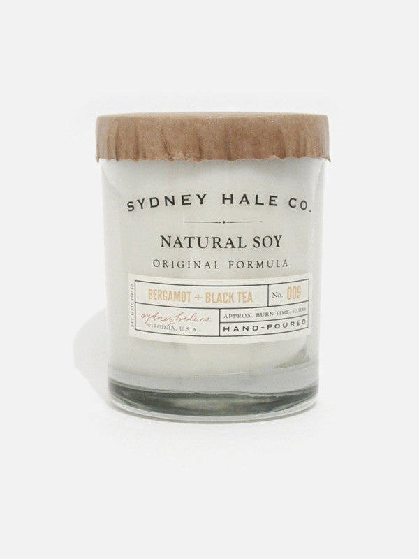 Sydney Hale Co Double Wick Candle - Bergamot & Black Tea