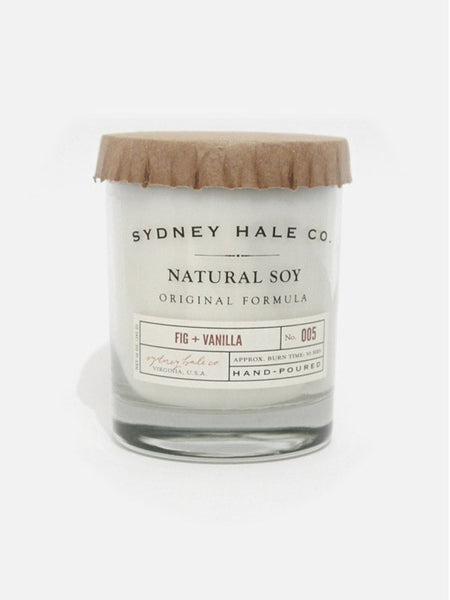 Sydney Hale Co Double Wick Candle - Fig & Vanilla