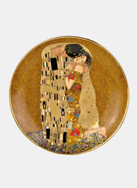 Gustav Klimt Welcome Plate - The Kiss