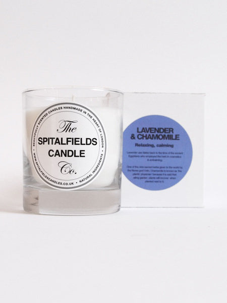 Spitalfields Candles - Lavender & Chamomile 200g