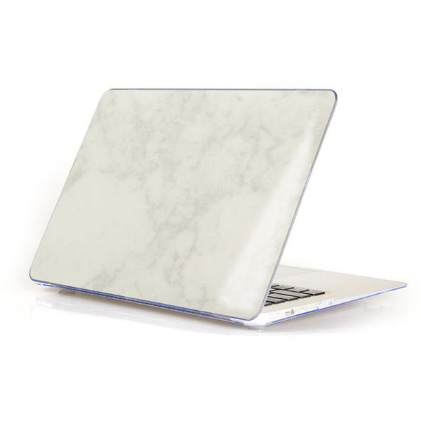 Marble Matte Hard Case Cover For Macbook - Off White