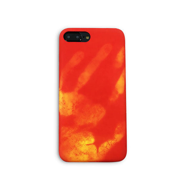 Thermal Sensor Case For iPhone - Red