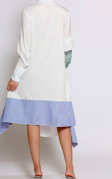 Stripe Patch Dress