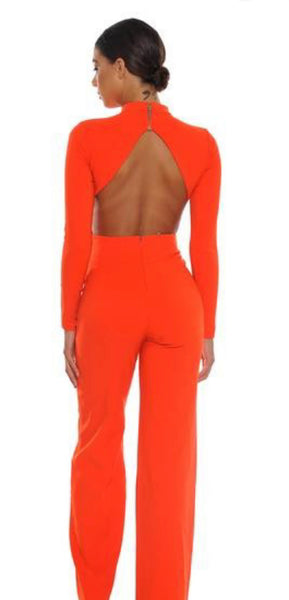 Back Out One Piece Jumpsuit