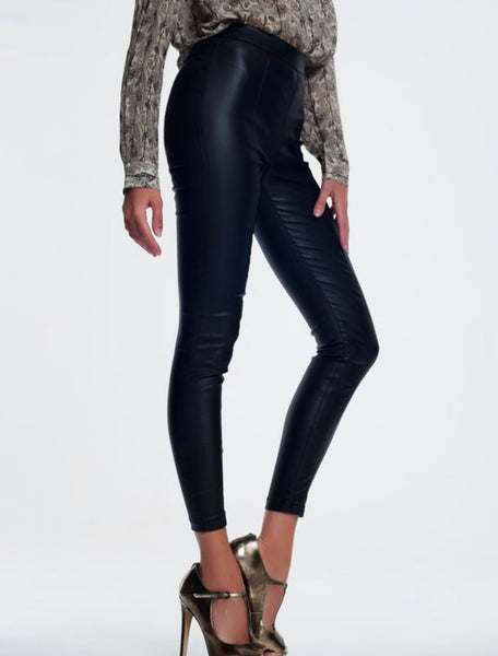Faux Leather Pants