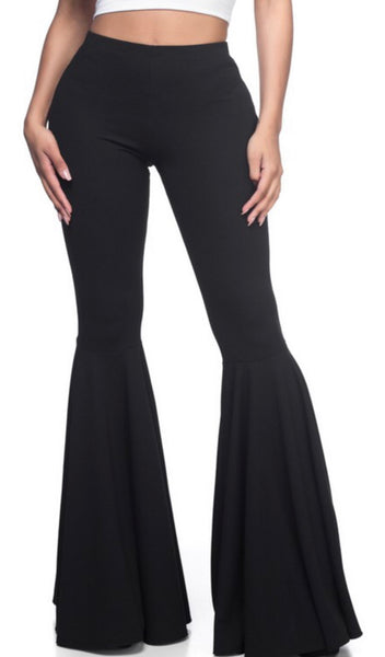 Spandex Bell Bottom Pants