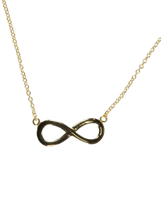 Infinity Jewerly  Titanium Stainless Steel Yellow Gold-Finish