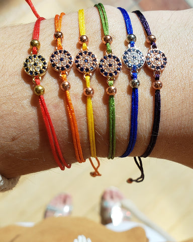 Evil Eye Colours Bracelets