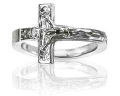 Girl's Crucifix Purity Ring