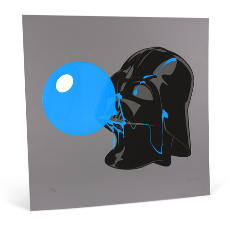 Darthpopstar Blue Glow print