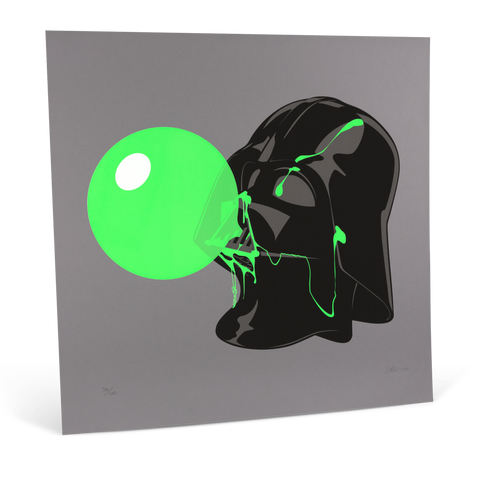 Darthpopstar Green Glow print