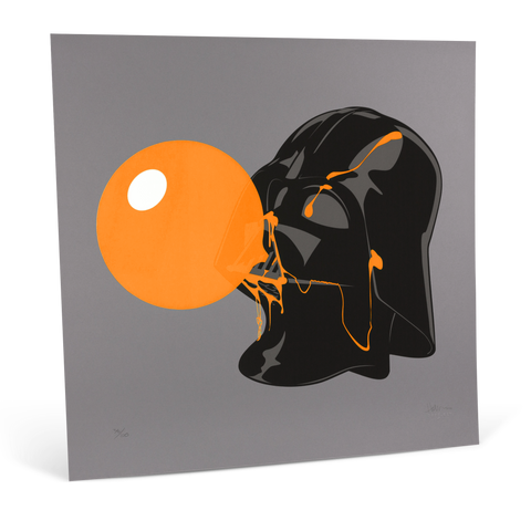 Darthpopstar Orange Glow print