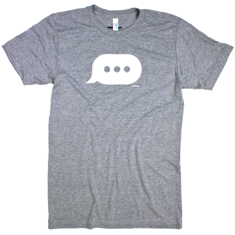 Glow Chat Bubble tee