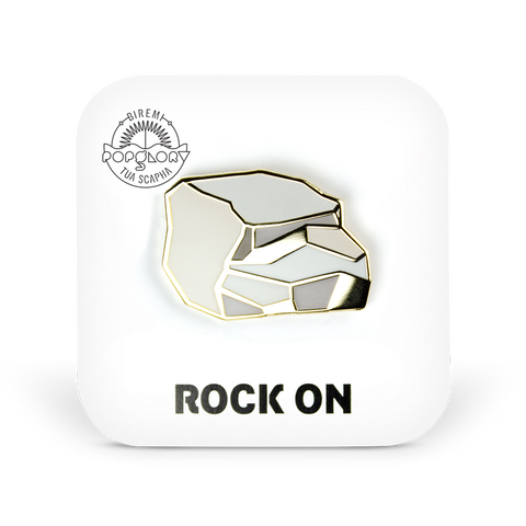 Rock On pin