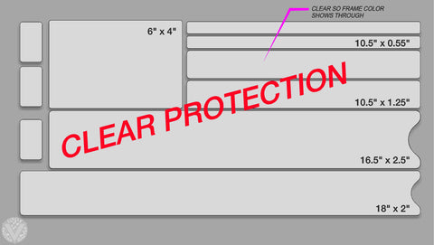 Clear Frame Paint Protection Kit