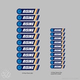 Team Palmares Name Stickers-10 pack